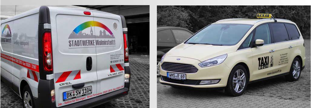 Fahrzeugbeschriftung Magdeburg