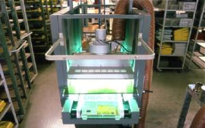 Siebdruck Automat