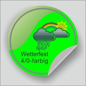 Outdoor Aufkleber Wetterfest Uv Beständig Druck 10 Farbig