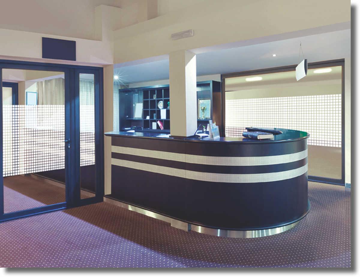 fenster dekorfolie wei e rechtecke 35 mm. Black Bedroom Furniture Sets. Home Design Ideas