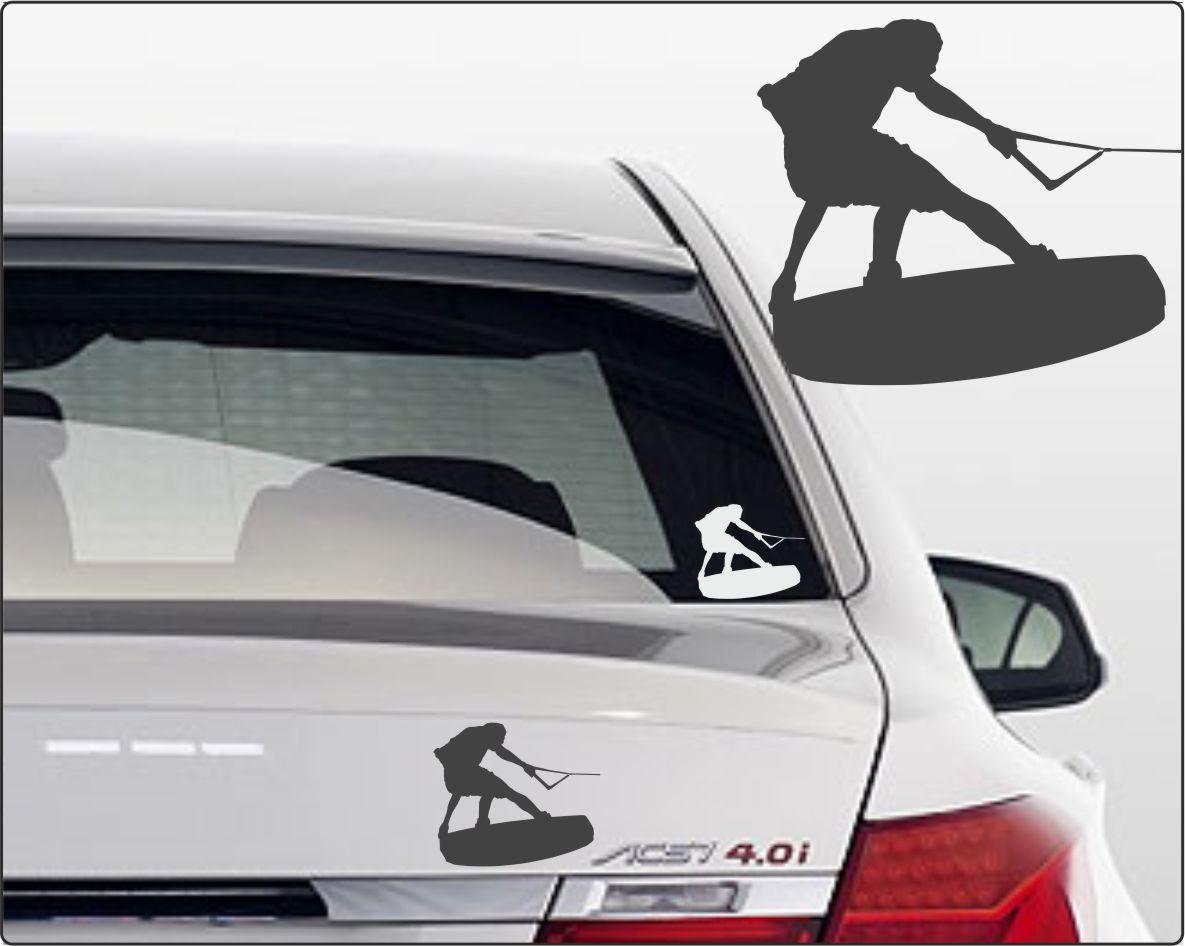 Wakeboard Aufkleber Auto