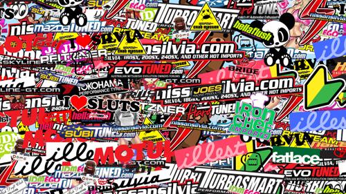 Sticker Bomb Folie Stickerbomb Aufkleber Kaufen