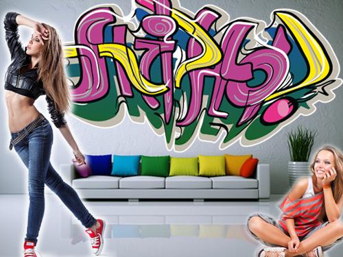 Wandtattoo Jugendzimmer \