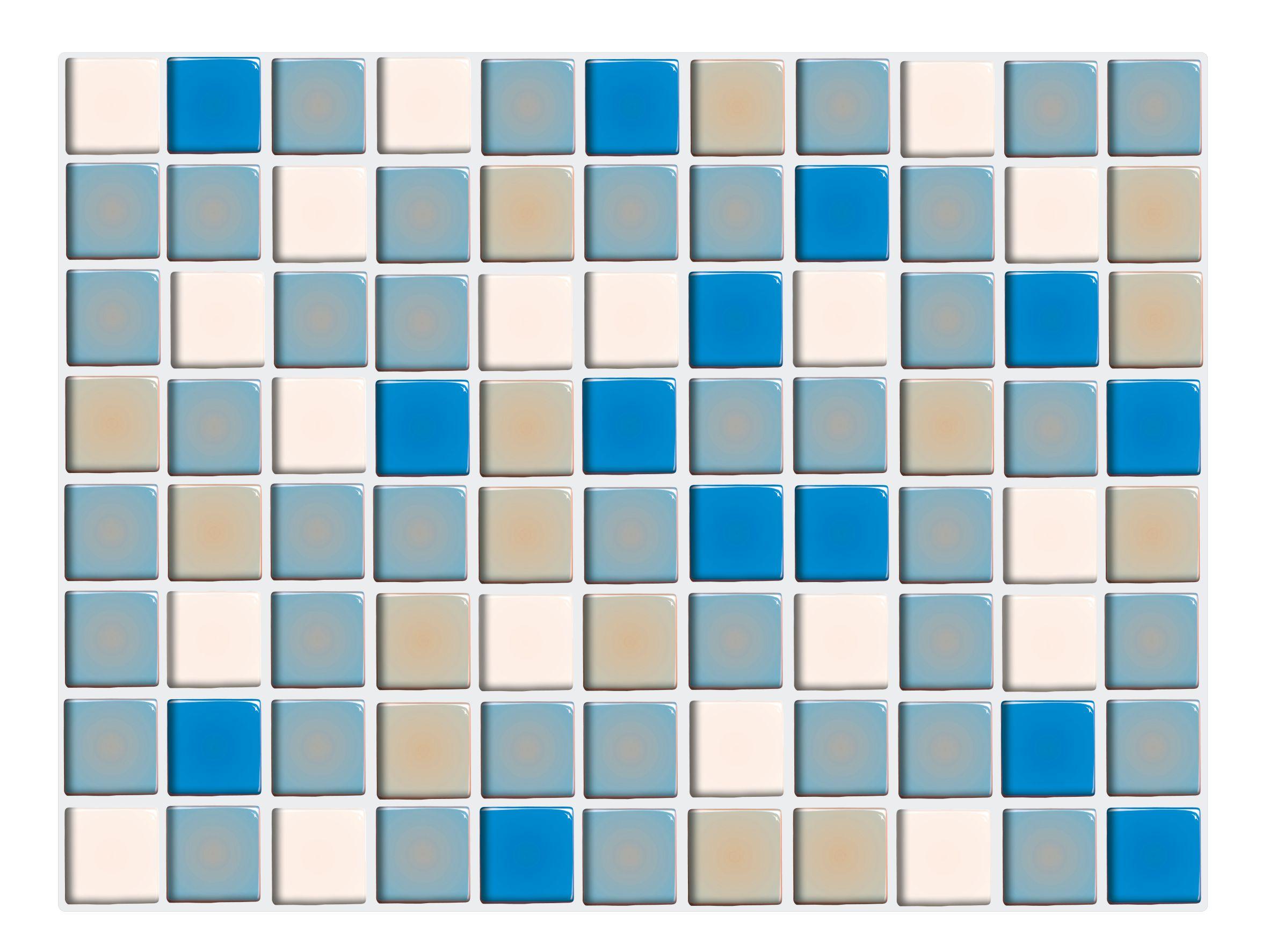 Mosaik klebefliesen - Fliesen bordure uberkleben ...