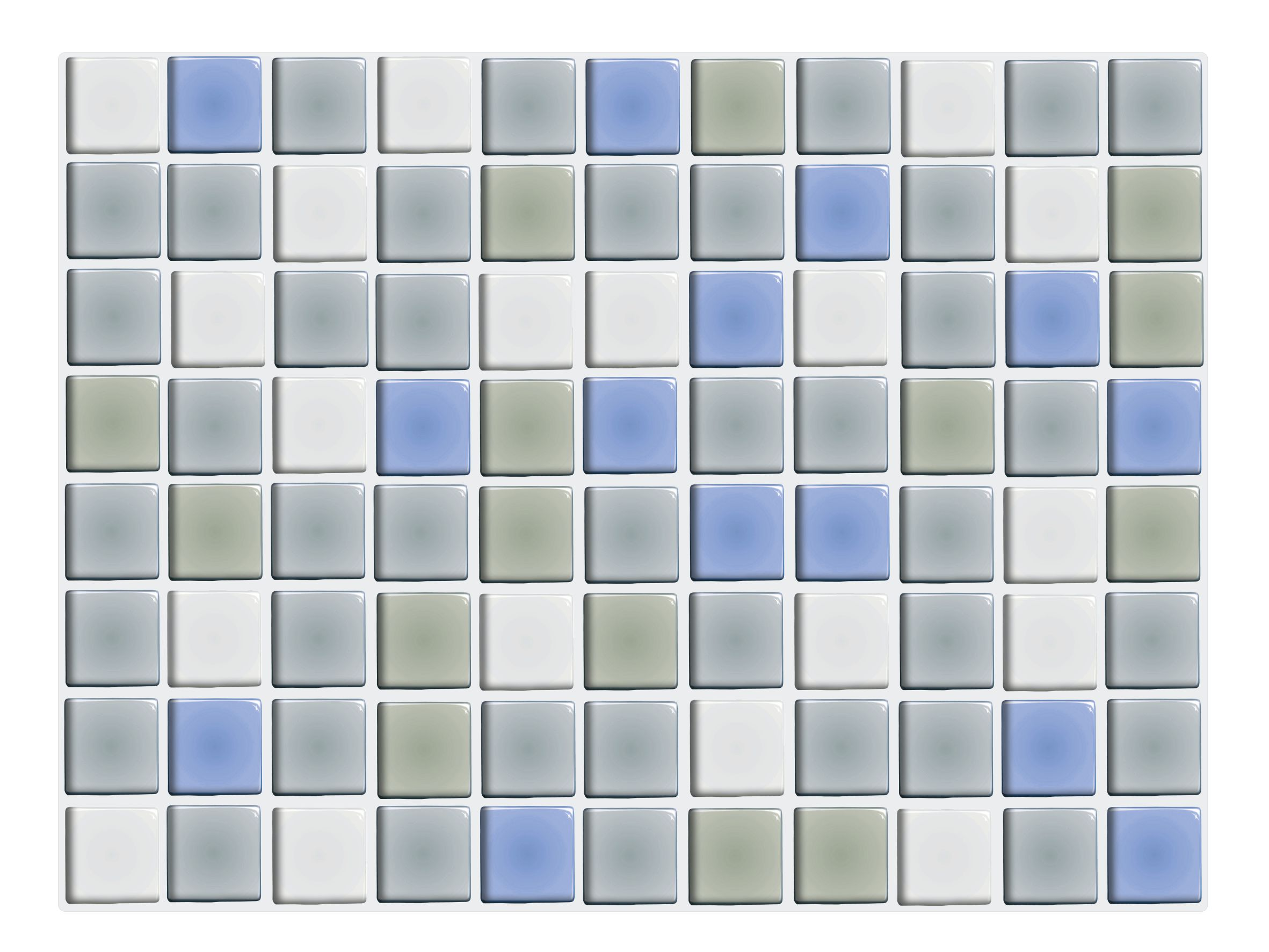 Fliesenaufkleber Klebefliesen Mosaik 22