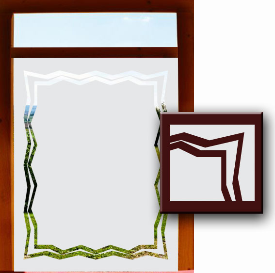 fensterdesignfolie sichtschutz. Black Bedroom Furniture Sets. Home Design Ideas