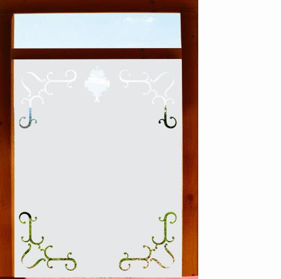 Sichtschutzfolie Badezimmer
