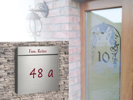 Hausnummern Aufkleber