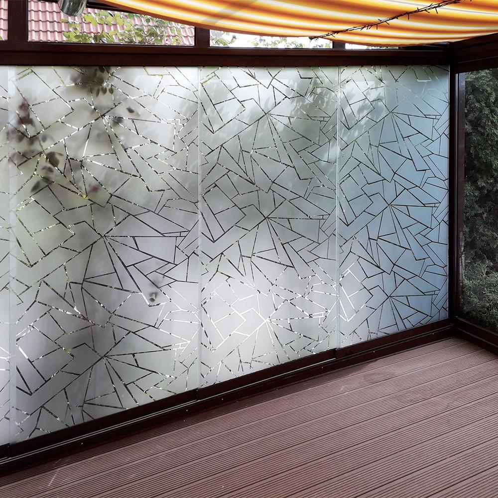 Sichtschutzfolie Wintergarten Fenster Mit Motiv