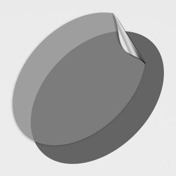 Ovale Aufkleber oval