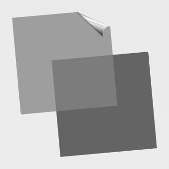 Quadratische Aufkleber