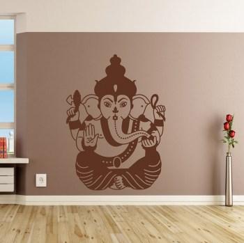 Wandtattoo Ganesha die Indische Gottheit