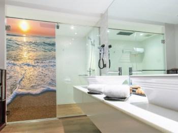 Wasserdichte Folie für Ihre Dusche