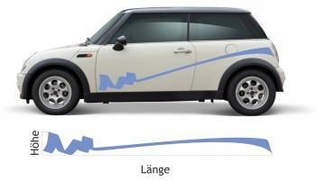 Autoaufkleber Fahrzeugdekor Fahrzeugsticker