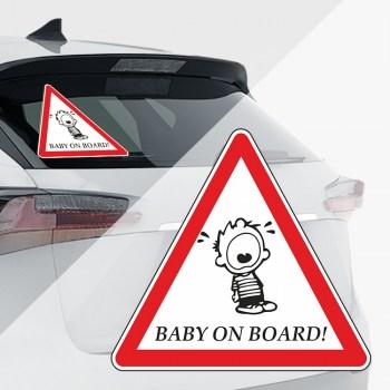 Baby an Bord Aufkleber - Lukas