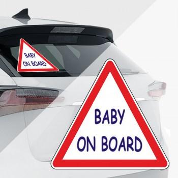 Baby an Bord Aufkleber - Achtung