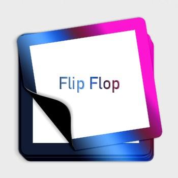 Chameleon FlipFlop irisirende Farbwechselaufkleber