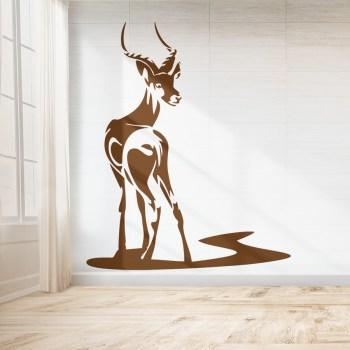Wandaufkleber Antilope - Afrika
