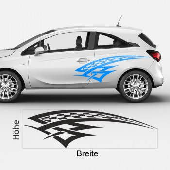 Optik-Tuning fürs Auto mit Klebefolien