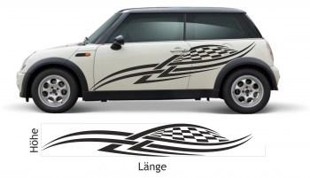 Folientunig für Autos Seitenaufkleber