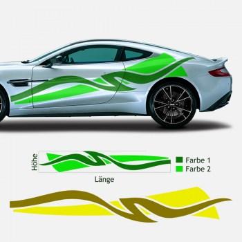 Tuningfolie Tuningaufkleber für Fahrzeuge