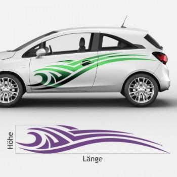 Auto-Aufkleber- Folienset zum selber bekleben