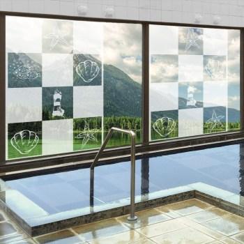 Badezimmerfenster Duschtrennwand