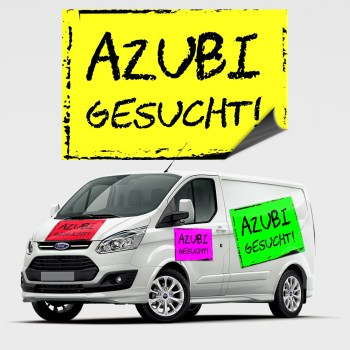 Azubi gesucht Magnetschild