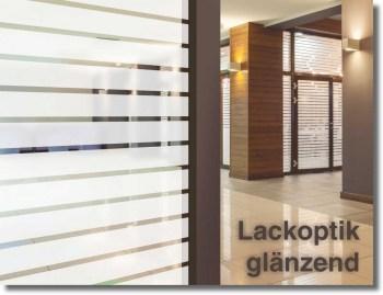 Fenster Dekorfolie WHITE LINES 45 mm