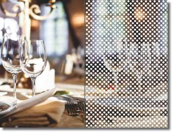 Fenster Dekorfolie WHITE POINTS