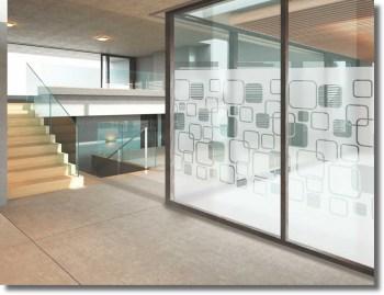 Fenster Sichtschutzfolie mit Motiv