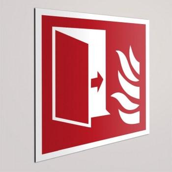 Brandschutzzeichen F007-Brandschutztür