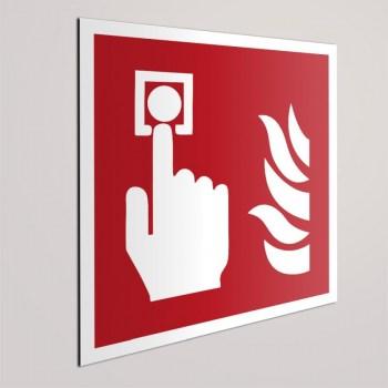 Brandschutzzeichen F005 Brandmelder