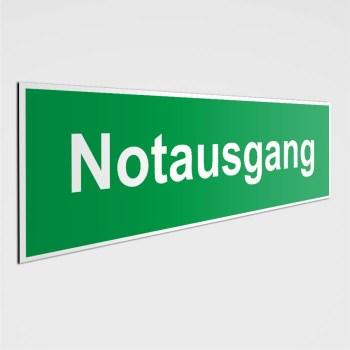 Notausgang Schilder - Fluchtwege