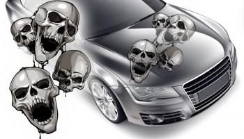 Autoaufkleber skulls Totenköpfe