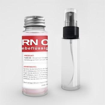 TURN ON - Die perfekte Verklebeflüssigkeit für PVC Folien 50 ml