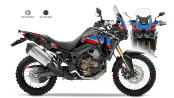 RUBBERDUST - Honda Africa Twin CRF1000L - Dekorset - Black