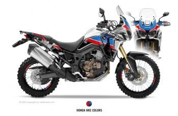 RUBBERDUST - Honda Africa Twin CRF1000L - Dekorset - Silber