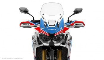 RUBBERDUST - Honda Africa Twin CRF1000L - SPORT - Dekorset - Silber