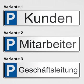 Parkplatz für Mitarbeiter, Geschäftsleitung und Kunden