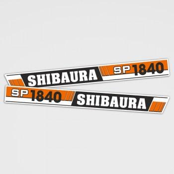 Shibaura SP 1840 Aufkleber Set