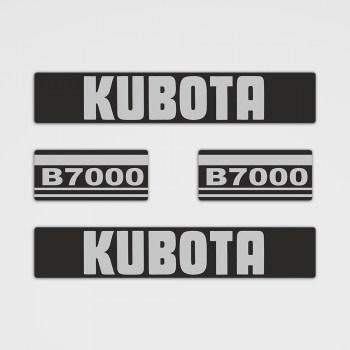 Kubota B7000 Aufkleber Set