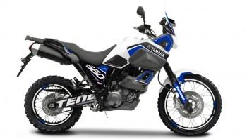 RUBBERDUST - Yamaha XT660Z Ténéré - Rally 1 Blue - Dekorbogen