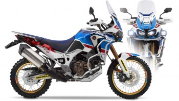 RUBBERDUST - Honda Africa Twin - ADVENTURESPORTS DAKAR 88