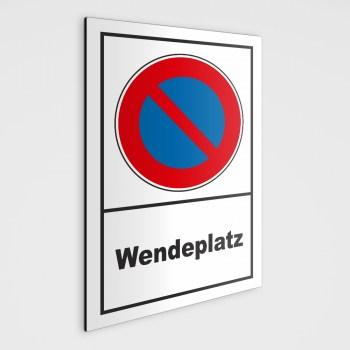 Hinweisschild - Wendeplatz