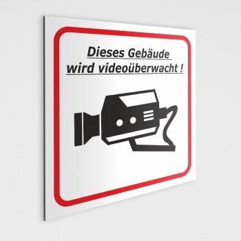 Videoüberwachung Schild, Videoüberwachungs Schild Pflicht!