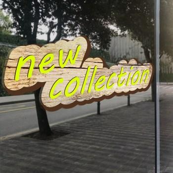 new collection Aufkleber auch als Adhäsionsfolie