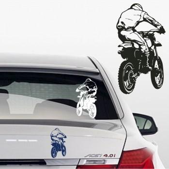 Aufkleber motocross