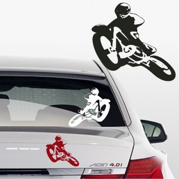 Autoaufkleber motocross