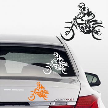 motocross Aufkleber fürs Auto